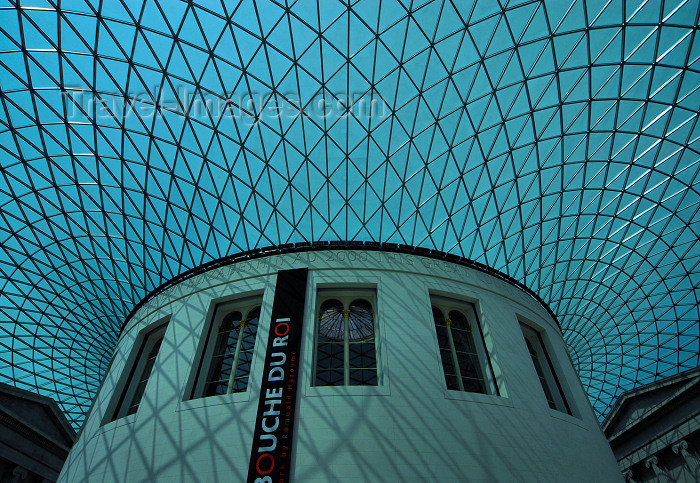 england424: London: British museum - Queen Elizabeth II Great Court around the former Reading Room - the largest covered square in Europe - photo by M.Torres - (c) Travel-Images.com - Stock Photography agency - Image Bank