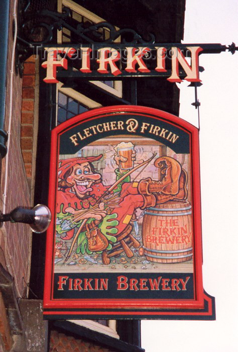 england43: Nottingham - Nottinghamshire, England (UK): merry Robin pub - Firkin brewery - photo by M.Torres - (c) Travel-Images.com - Stock Photography agency - Image Bank