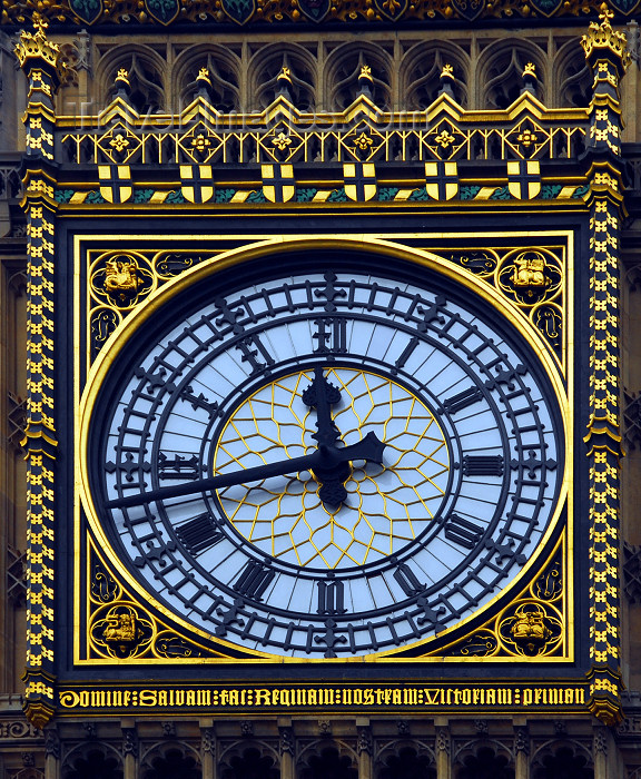 england443: London:Big Ben - face of the Great Clock of Westminster - designed by Augustus Pugin - architect Charles Barry - photo by  M.Torres / Travel-Images.com - (c) Travel-Images.com - Stock Photography agency - Image Bank