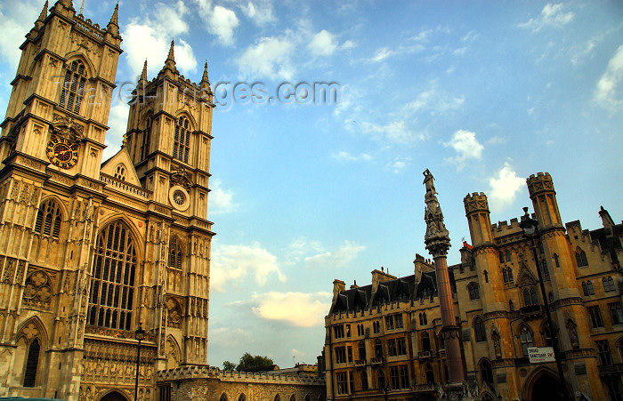 england469: London: Westminster Abbey - UNESCO World Heritage Site - Collegiate Church of St Peter - photo by M.Torres - (c) Travel-Images.com - Stock Photography agency - Image Bank
