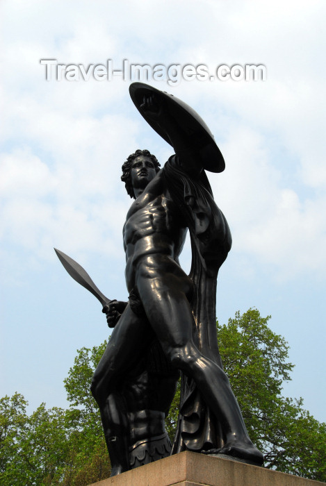 england475: London: Achilles statue - Hyde Park - photo by M.Torres - (c) Travel-Images.com - Stock Photography agency - Image Bank