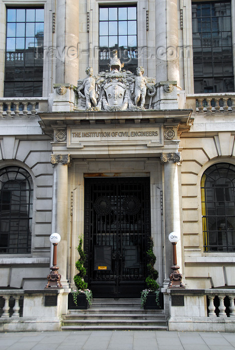 england481: London: Institution of Civil Engineers - ICE - One Great George street - designed by Scottish architect James Miller - conference and wedding venue - Westminster - photo by M.Torres - (c) Travel-Images.com - Stock Photography agency - Image Bank