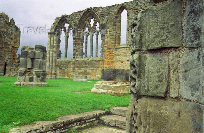 england519: Whitby, North Yorkshire, England: Whitby Abbey - windows - photo by D.Jackson - (c) Travel-Images.com - Stock Photography agency - Image Bank
