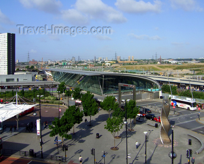 england537: Newham, London, England: Stratford Station, Olympic Site 2012 - photo by A.Bartel - (c) Travel-Images.com - Stock Photography agency - Image Bank