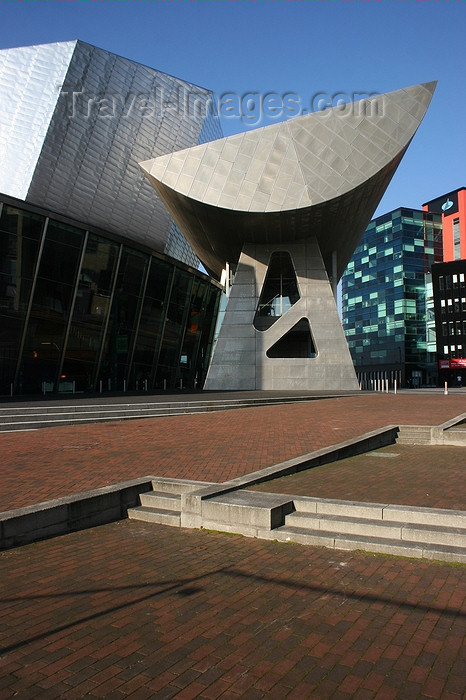 england545: Salford, Greater Manchester, England: The Lowry centre - Expressionist Architecture - Salford Quays - photo by J.Cave - (c) Travel-Images.com - Stock Photography agency - Image Bank