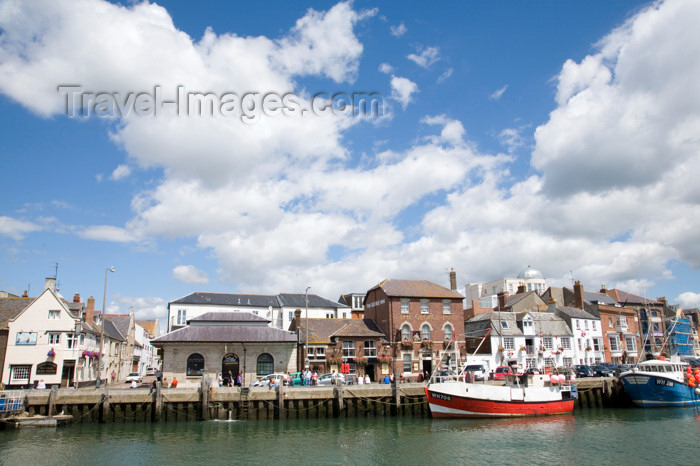 england562: Weymouth, Dorset, England: quay and fishing boats - photo by I.Middleton - (c) Travel-Images.com - Stock Photography agency - Image Bank