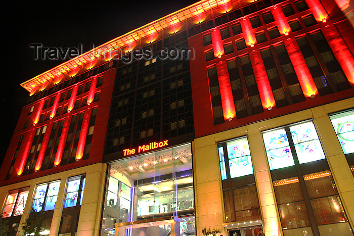 england579: Birmingham, West Midlands, England: The Mailbox - development of offices, designer shops, restaurants, bars and luxury apartments - formerly Royal Mail's main sorting office for Birmingham - photo by J.Cave - (c) Travel-Images.com - Stock Photography agency - Image Bank