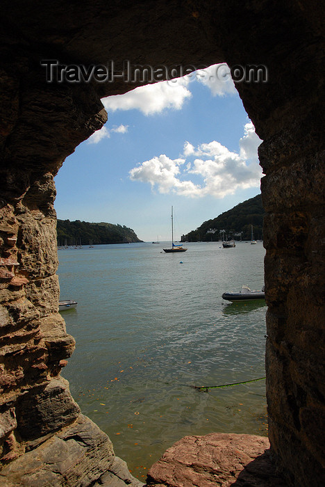 england581: Dartmouth, Devon, England:  estuary of the River Dart - photo by T.Marshall - (c) Travel-Images.com - Stock Photography agency - Image Bank