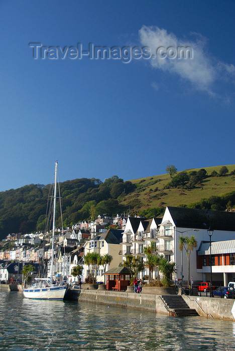 england586: Dartmouth, Devon, England: harbour front - photo by T.Marshall - (c) Travel-Images.com - Stock Photography agency - Image Bank