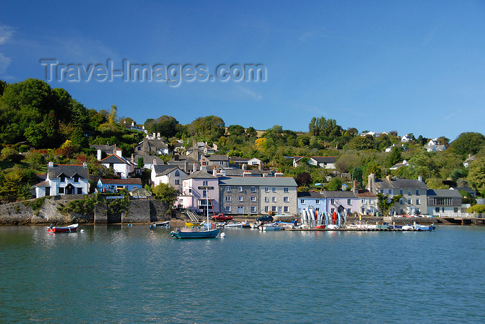 england588: Dittisham, Devon, England: seen from Greenway Quay - photo by T.Marshall - (c) Travel-Images.com - Stock Photography agency - Image Bank