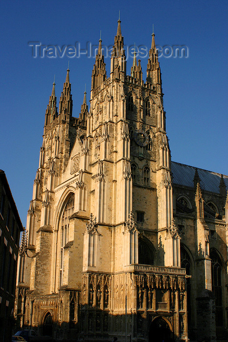 england619: Canterbury, Kent, South East England: Canterbury Cathedral from the southwest - UNESCO world heritage site - photo by I.Middleton - (c) Travel-Images.com - Stock Photography agency - Image Bank