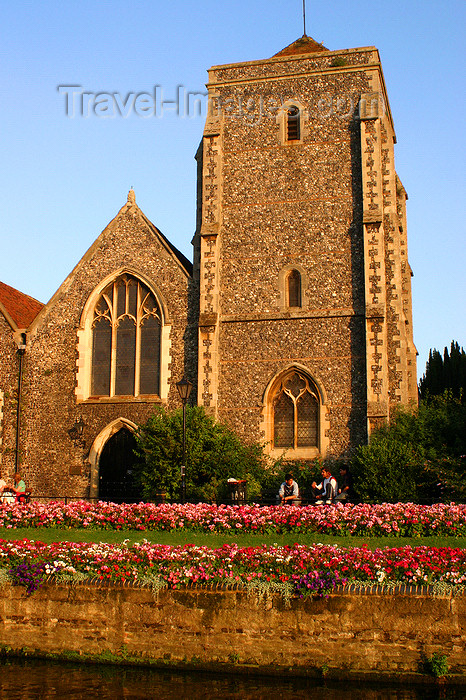 england623: Canterbury, Kent, South East England: Holy Cross church, West Gate, by the Great Stour river - now the Guildhall - photo by I.Middleton - (c) Travel-Images.com - Stock Photography agency - Image Bank