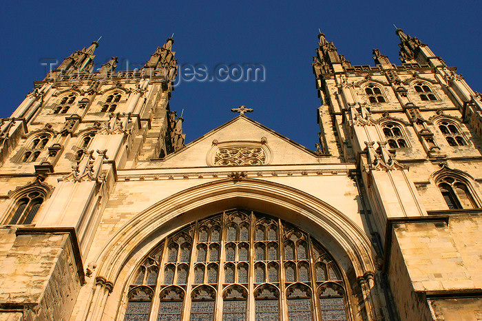 england628: Canterbury, Kent, South East England: Canterbury Cathedral, seat of the Archbishop of Canterbury, leader of the Church of England - UNESCO world heritage site - photo by I.Middleton - (c) Travel-Images.com - Stock Photography agency - Image Bank