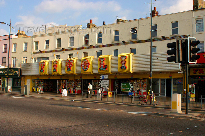 england634: Margate, Kent, South East England: Tivoli Arcade - photo by I.Middleton - (c) Travel-Images.com - Stock Photography agency - Image Bank