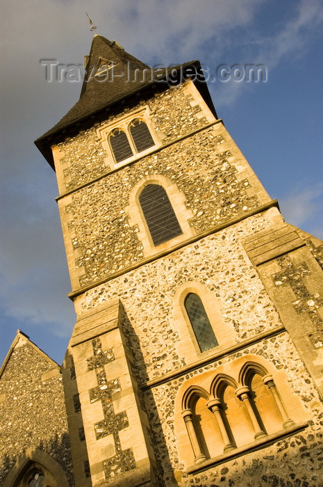 england641: Kent, England: small village church - bell tower - photo by B.Henry - (c) Travel-Images.com - Stock Photography agency - Image Bank