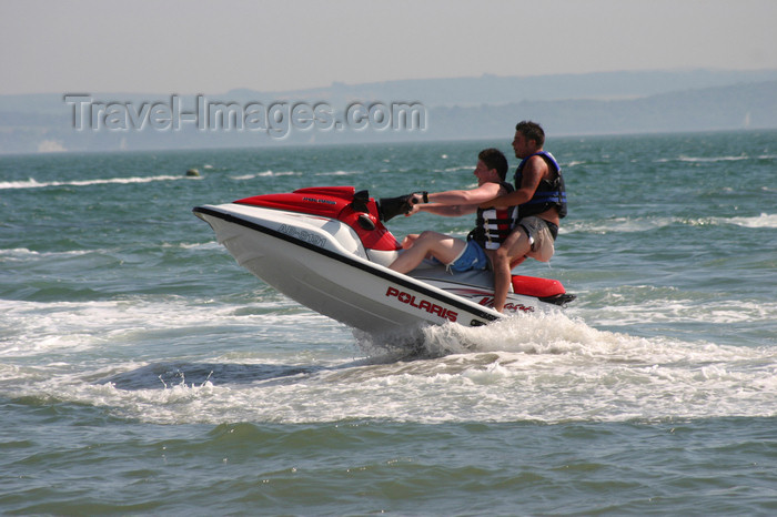 england652: Lee on Solent, Hampshire, South East England, UK: jet skiing - photo by I.Middleton - (c) Travel-Images.com - Stock Photography agency - Image Bank