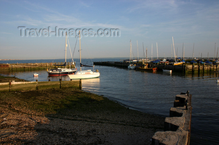 england661: Lee on Solent, Hampshire, South East England, UK: Titchfield Haven marina at Hill Head - photo by I.Middleton - (c) Travel-Images.com - Stock Photography agency - Image Bank