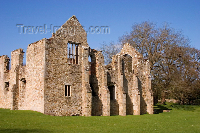 england662: Netley, Hampshire, South East England, UK: Netley Abbey - medieval monastery founded by Peter des Roches - photo by I.Middleton - (c) Travel-Images.com - Stock Photography agency - Image Bank