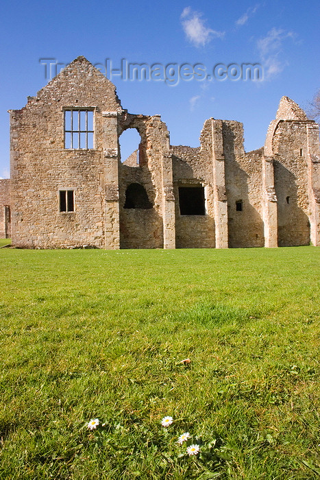 england664: Netley, Hampshire, South East England, UK: Netley Abbey - facade of the reredorter - Cistercian order - photo by I.Middleton - (c) Travel-Images.com - Stock Photography agency - Image Bank