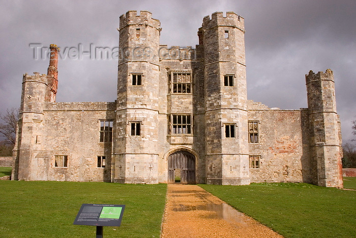 england670: Titchfield, Hampshire, South East England, UK: Titchfield Abbey - dedicated to the Assumption of the Blessed Virgin - photo by I.Middleton - (c) Travel-Images.com - Stock Photography agency - Image Bank