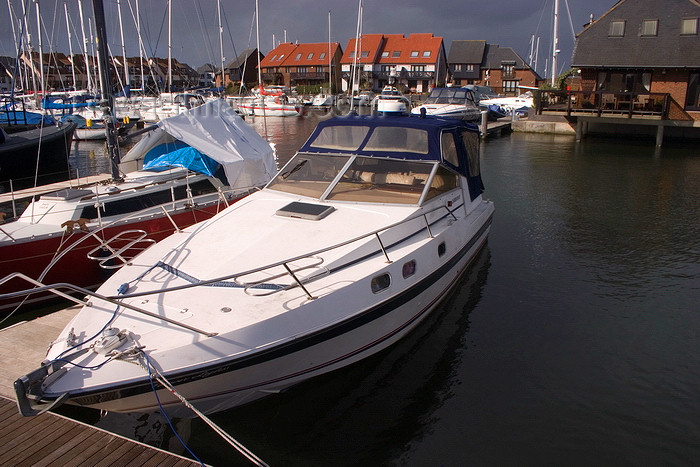 england673: Hythe, New Forest, Hampshire, South East England, UK: boat in the marina - photo by I.Middleton - (c) Travel-Images.com - Stock Photography agency - Image Bank