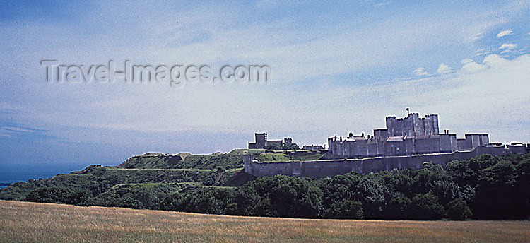 england68: England (UK) - Dover (Kent): the castle, once the 'Key to England' - photo by J.Banks - (c) Travel-Images.com - Stock Photography agency - Image Bank