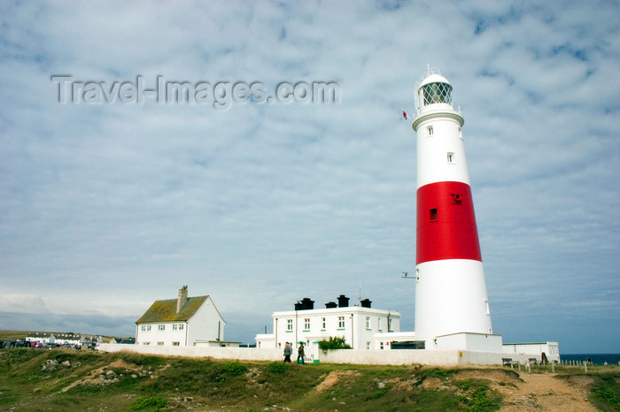 england691: Portland Bill, Dorset, South West England, UK: Portland Bill lighthouse and visitor's centre - photo by I.Middleton - (c) Travel-Images.com - Stock Photography agency - Image Bank
