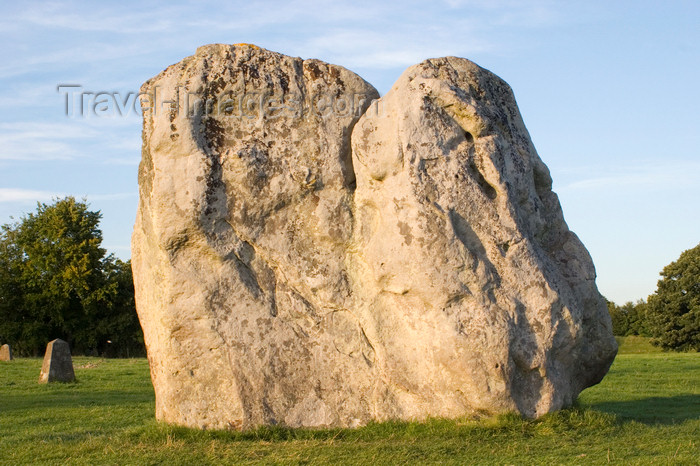 england700: Avebury, Wiltshire, South West England, UK: Avebury stone circle - wide stone - UNESCO World Heritage Site - photo by I.Middleton - (c) Travel-Images.com - Stock Photography agency - Image Bank