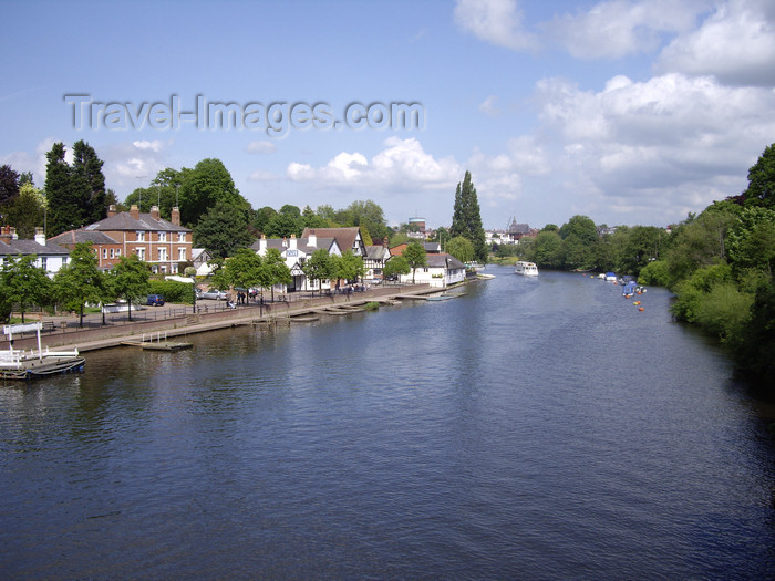 england719: Chester, Cheshire, North West England, UK: the River Dee - photo by T.Brown - (c) Travel-Images.com - Stock Photography agency - Image Bank