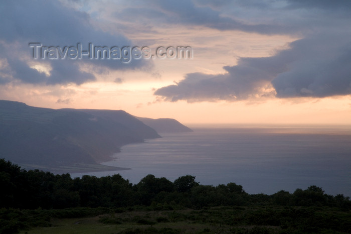 england735: Exmoor NP, Somerset, South West England, UK: Exmoor coast - Bristol Channel coast - Môr Hafren - photo by I.Middleton - (c) Travel-Images.com - Stock Photography agency - Image Bank