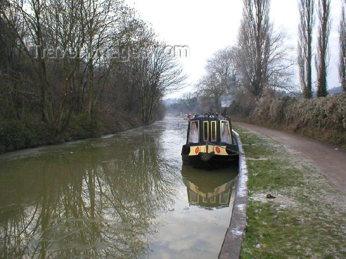 england75: Bradford-On-Avon (Wiltshire): Kennet and Avon Canal - photo by N.Clark - (c) Travel-Images.com - Stock Photography agency - Image Bank