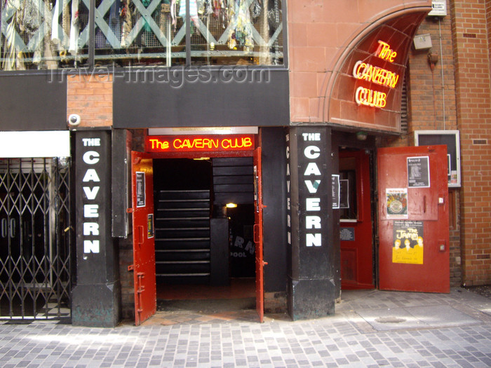 england750: Liverpool, Merseyside, North West England, UK: The Cavern Club - famous for the Beatles concerts - Mathew Street - photo by T.Brown - (c) Travel-Images.com - Stock Photography agency - Image Bank