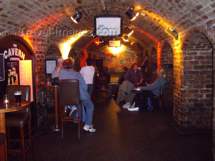 england751: Liverpool, Merseyside, North West England, UK: inside the Cavern Club - photo by T.Brown - (c) Travel-Images.com - Stock Photography agency - Image Bank