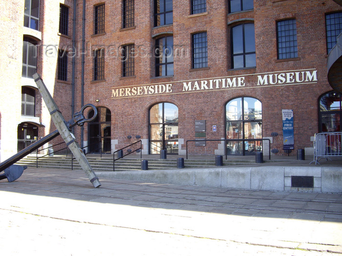 england754: Liverpool, Merseyside, North West England, UK: Merseyside Maritime Museum - Albert Dock - photo by T.Brown - (c) Travel-Images.com - Stock Photography agency - Image Bank