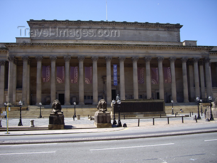 england755: Liverpool, Merseyside, North West England, UK: Saint Georges Hall - photo by T.Brown - (c) Travel-Images.com - Stock Photography agency - Image Bank