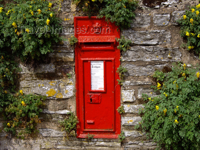 england759: Stratford-upon-Avon, West Midlands, England, UK: Victorian letter box - photo by T.Brown - (c) Travel-Images.com - Stock Photography agency - Image Bank