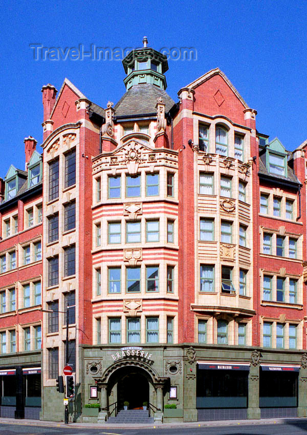 england87: Manchester, North West, England: Joshua Hoyle and Son building, near Piccadilly  Station - photo by D.Jackson - (c) Travel-Images.com - Stock Photography agency - Image Bank