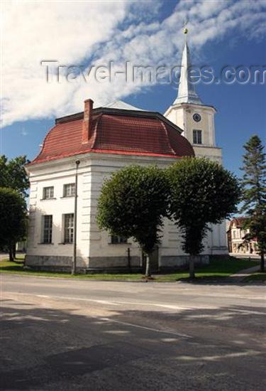 estonia122: Estonia - Eesti - Valga: St. John's church - (c) Travel-Images.com - Stock Photography agency - Image Bank