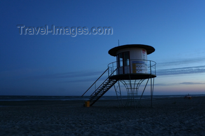 estonia150: Estonia - Parnu: Lifeguard Stand, Parnu Beach - photo by K.Hagen - (c) Travel-Images.com - Stock Photography agency - Image Bank