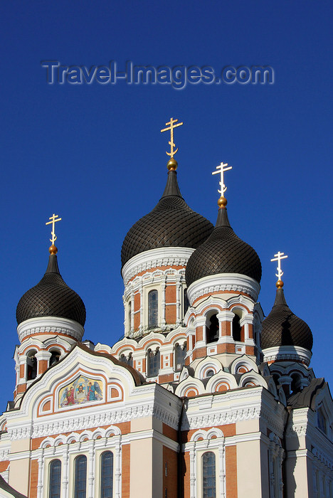 estonia193: Estonia, Tallinn: Alexander Nevsky Cathedral - Russian Revival style - photo by J.Pemberton - (c) Travel-Images.com - Stock Photography agency - Image Bank