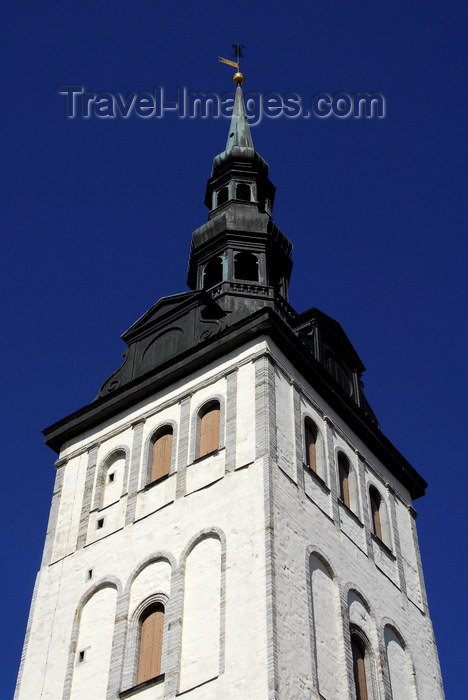 estonia194: Estonia, Tallinn: St Nichola's Church spire - photo by J.Pemberton - (c) Travel-Images.com - Stock Photography agency - Image Bank