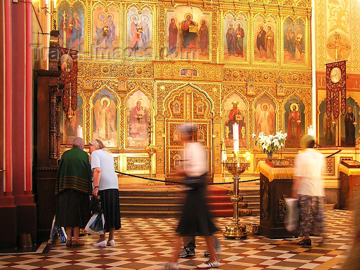 estonia3: Estonia - Tallinn: iconostasis of the Alexander Nevski Orthodox Cathedral - photo by J.Kaman - (c) Travel-Images.com - Stock Photography agency - Image Bank