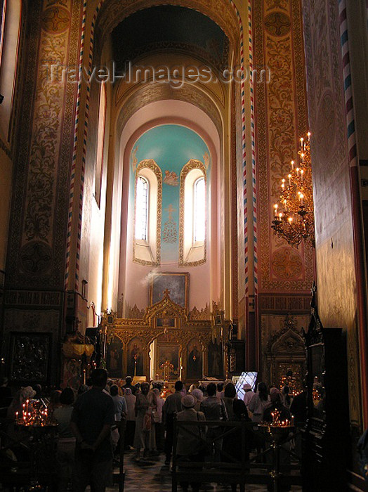 estonia44: Estonia - Tallinn: interior of Alexander Nevski Russian Orthodox Cathedral - katedraal - photo by J.Kaman - (c) Travel-Images.com - Stock Photography agency - Image Bank