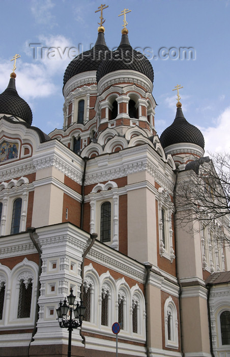 estonia80: Estonia - Tallinn: side view of Alexander Nevski Orthodox Cathedral - photo by C.Schmidt - (c) Travel-Images.com - Stock Photography agency - Image Bank