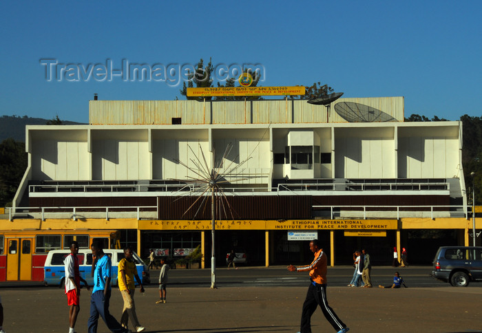ethiopia111: Addis Ababa, Ethiopia: Ethiopian International Institute for Peace and Development - Meskal square - photo by M.Torres - (c) Travel-Images.com - Stock Photography agency - Image Bank