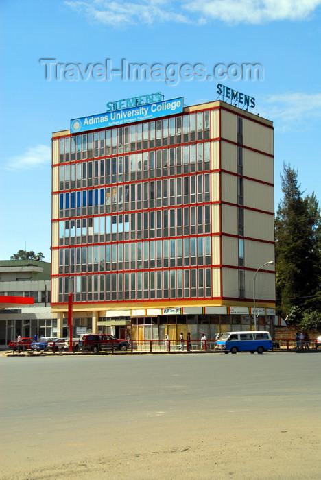 ethiopia113: Addis Ababa, Ethiopia: Admas University College - Meskal square - photo by M.Torres - (c) Travel-Images.com - Stock Photography agency - Image Bank
