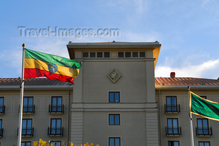 ethiopia115: Addis Ababa, Ethiopia: Sheraton Addis hotel - Taitu Street - photo by M.Torres - (c) Travel-Images.com - Stock Photography agency - Image Bank