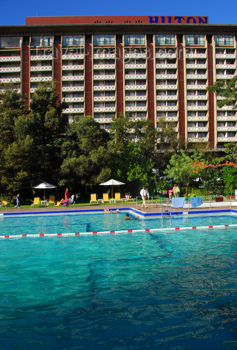 ethiopia131: Addis Ababa, Ethiopia: Hilton Addis Ababa hotel - view from the pool - photo by M.Torres - (c) Travel-Images.com - Stock Photography agency - Image Bank