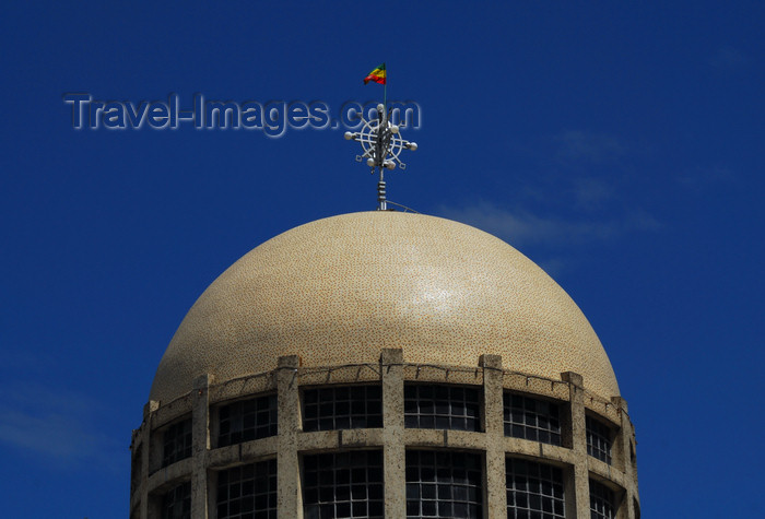 ethiopia139: Addis Ababa, Ethiopia: St. Stephanos church - the dome - photo by M.Torres - (c) Travel-Images.com - Stock Photography agency - Image Bank