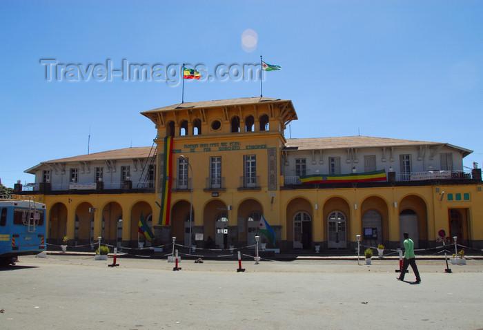 ethiopia149: Addis Ababa, Ethiopia: main train station - La Gare - railways were the brainchild of Ménélik II - photo by M.Torres - (c) Travel-Images.com - Stock Photography agency - Image Bank